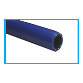 BRAID ALBASTRU  -  FURTUN PVC AER COMPRIMAT