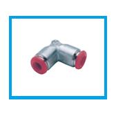 Cupla pneumatica cu cot - METAL