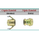 Cupla rapida Kamlok cu filet interior - 30 bar